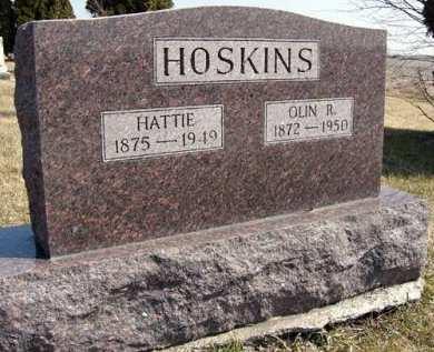 HOSKINS, OLIN R. - Adair County, Iowa   OLIN R. HOSKINS
