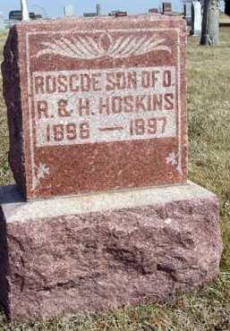 HOSKINS, ROSCOE - Adair County, Iowa   ROSCOE HOSKINS