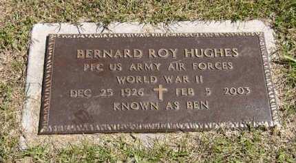 HUGHES, BERNARD ROY - Adair County, Iowa   BERNARD ROY HUGHES