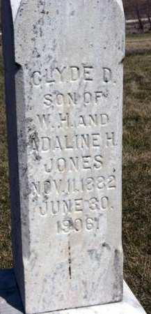 JONES, CLYDE D. - Adair County, Iowa | CLYDE D. JONES