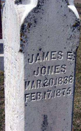 JONES, JAMES E. - Adair County, Iowa   JAMES E. JONES