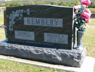 KEMBERY, MAURICE R. - Adair County, Iowa | MAURICE R. KEMBERY