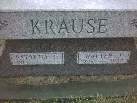 KRAUSE, WALTER   J. - Adair County, Iowa | WALTER   J. KRAUSE