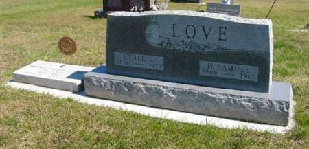 LOVE, ETHEL E. - Adair County, Iowa | ETHEL E. LOVE