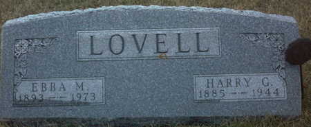 LOVELL, HARRY  G. - Adair County, Iowa | HARRY  G. LOVELL