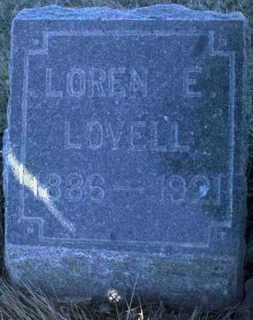 LOVELL, LOREN E. - Adair County, Iowa | LOREN E. LOVELL