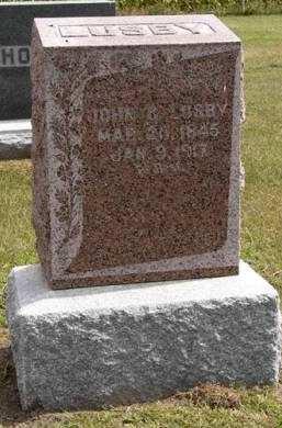 LUSBY, JOHN G. - Adair County, Iowa   JOHN G. LUSBY