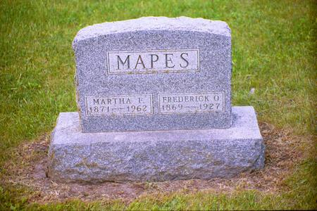 GARRETT MAPES, MARTHA FRANCIS - Adair County, Iowa | MARTHA FRANCIS GARRETT MAPES