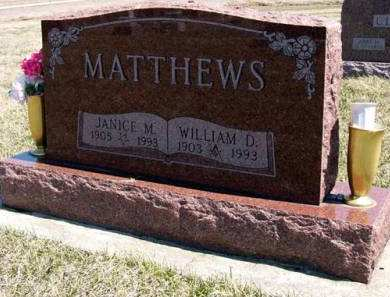 MATTHEWS, WILLIAM D. - Adair County, Iowa | WILLIAM D. MATTHEWS