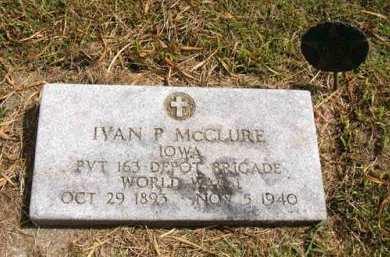 MCCLURE, IVAN P. - Adair County, Iowa | IVAN P. MCCLURE