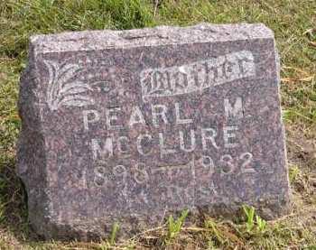 MCCLURE, PEARL M. - Adair County, Iowa | PEARL M. MCCLURE