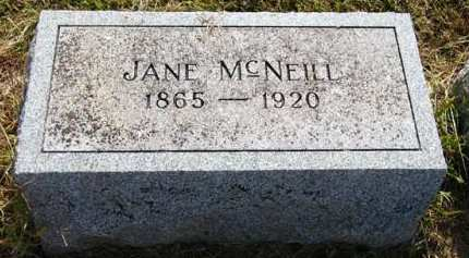 MCNEILL, JANE - Adair County, Iowa | JANE MCNEILL