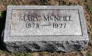 MCNEILL, MARY - Adair County, Iowa | MARY MCNEILL