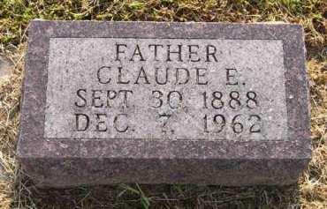 MICHAEL, CLAUDE E. - Adair County, Iowa   CLAUDE E. MICHAEL
