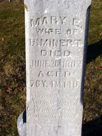 MINERT, MARY E. - Adair County, Iowa | MARY E. MINERT