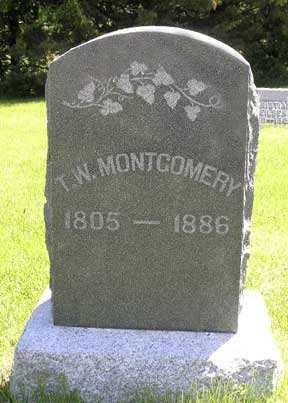 MONTGOMERY, T. W. - Adair County, Iowa | T. W. MONTGOMERY