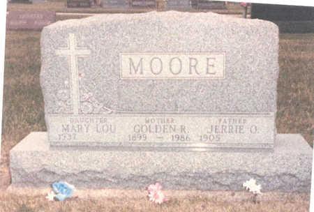 MOORE, JERRY O. - Adair County, Iowa | JERRY O. MOORE