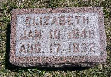 MOYER, ELIZABETH - Adair County, Iowa   ELIZABETH MOYER