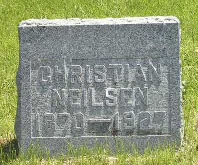 NEILSEN, CHRISTIAN - Adair County, Iowa | CHRISTIAN NEILSEN