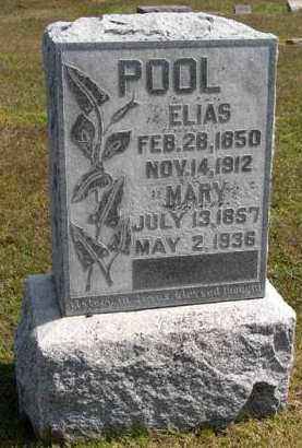 POOL, MARY - Adair County, Iowa | MARY POOL