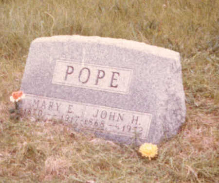 WILSON POPE, MARY ELLEN - Adair County, Iowa | MARY ELLEN WILSON POPE