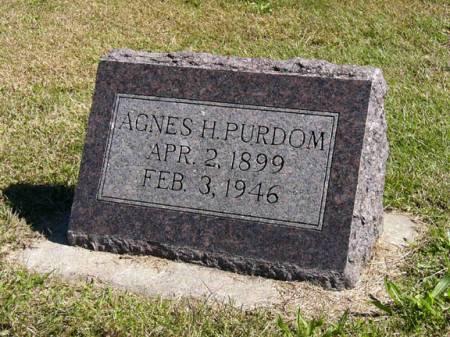 PURDOM, AGNES H. - Adair County, Iowa | AGNES H. PURDOM