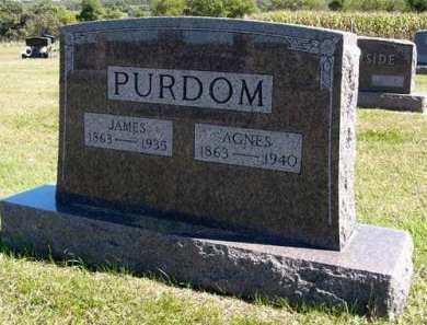 PURDOM, AGNES - Adair County, Iowa | AGNES PURDOM