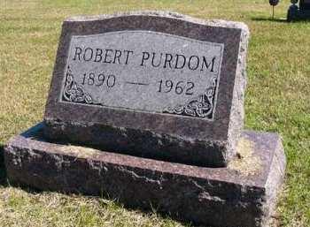 PURDOM, ROBERT - Adair County, Iowa   ROBERT PURDOM