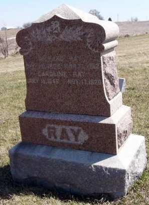 RAY, RICHARD - Adair County, Iowa | RICHARD RAY