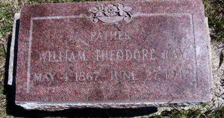 RAY, WILLIAM THEODORE - Adair County, Iowa   WILLIAM THEODORE RAY