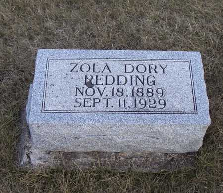 DORY REDDING, ZOLA - Adair County, Iowa | ZOLA DORY REDDING