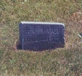 RUCH, BEN F. - Adair County, Iowa | BEN F. RUCH