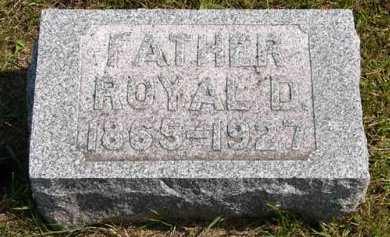 SCOTT, ROYAL D. - Adair County, Iowa   ROYAL D. SCOTT