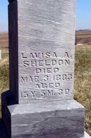 SHELDON, LAVISA A. - Adair County, Iowa   LAVISA A. SHELDON
