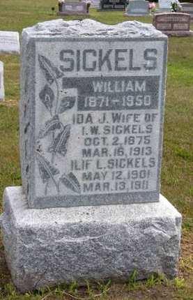 SICKELS, WILLIAM - Adair County, Iowa | WILLIAM SICKELS
