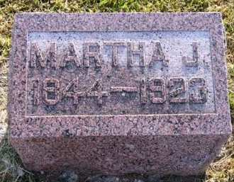 SINNER, MARTHA J. - Adair County, Iowa   MARTHA J. SINNER