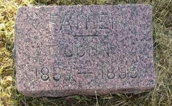 SKELLENGER, JOHN - Adair County, Iowa   JOHN SKELLENGER