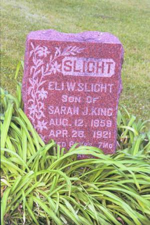SLIGHT, ELI W. - Adair County, Iowa | ELI W. SLIGHT