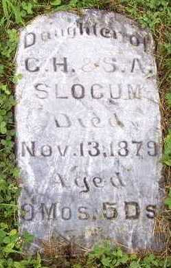 SLOCUM, DAUGHTER - Adair County, Iowa | DAUGHTER SLOCUM