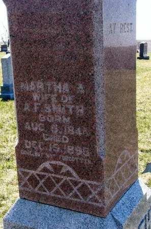SMITH, MARTHA A. - Adair County, Iowa | MARTHA A. SMITH