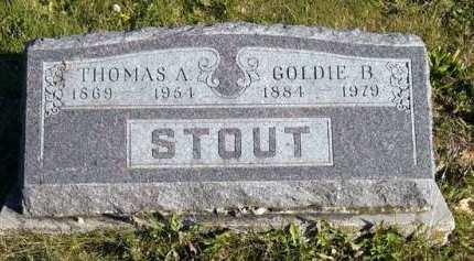 STOUT, GOLDIE B. - Adair County, Iowa   GOLDIE B. STOUT