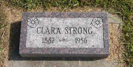 STRONG, CLARA - Adair County, Iowa | CLARA STRONG