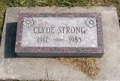 STRONG, CLYDE - Adair County, Iowa | CLYDE STRONG