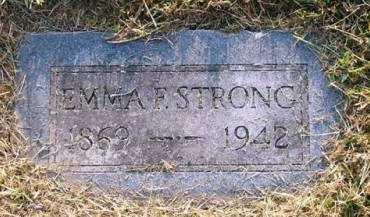STRONG, EMMA F. - Adair County, Iowa   EMMA F. STRONG