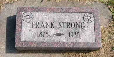 STRONG, FRANK - Adair County, Iowa | FRANK STRONG