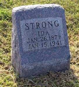 STRONG, IDA - Adair County, Iowa   IDA STRONG