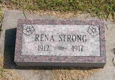 STRONG, RENA - Adair County, Iowa | RENA STRONG