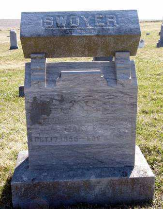 SWOYER, MARY C. - Adair County, Iowa | MARY C. SWOYER