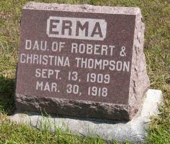 THOMPSON, ERMA - Adair County, Iowa | ERMA THOMPSON