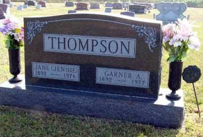 THOMPSON, GARNER A. - Adair County, Iowa | GARNER A. THOMPSON
